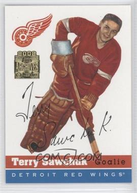 2001-02 Topps/O-Pee-Chee Archives [???] #58 - Terry Sawchuk