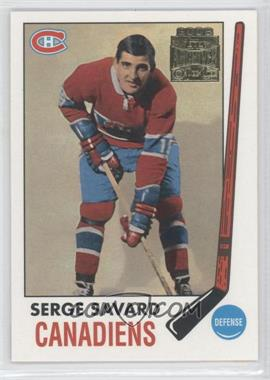 2001-02 Topps/O-Pee-Chee Archives #53 - Serge Savard
