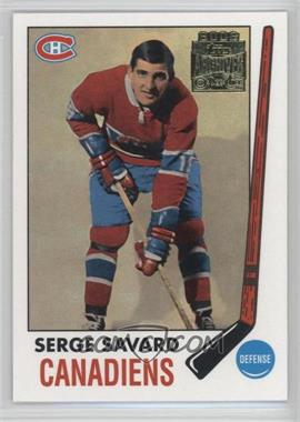 2001-02 Topps/O-Pee-Chee Archives #53 - Serge Savard
