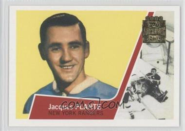 2001-02 Topps/O-Pee-Chee Archives #6 - Jacques Plante