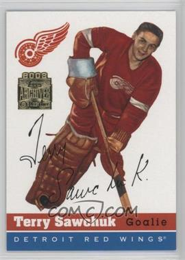 2001-02 Topps/O-Pee-Chee Archives #69 - Terry Sawchuk