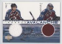 Ray Bourque, Patrick Roy