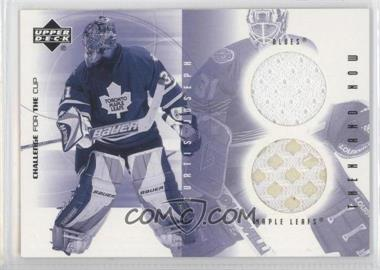 2001-02 Upper Deck Challenge for the Cup - Then and Now #TN-CJ - Curtis Joseph