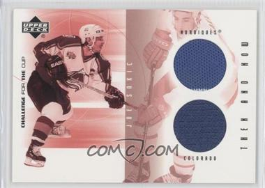 2001-02 Upper Deck Challenge for the Cup Then and Now #TN-JS - Joe Sakic