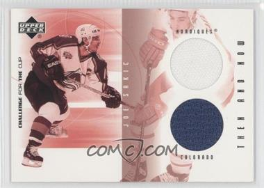 2001-02 Upper Deck Challenge for the Cup Then and Now #TN-TN-JS - Joe Sakic