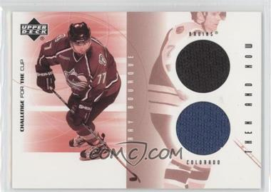 2001-02 Upper Deck Challenge for the Cup Then and Now #TN-TN-RB - Ray Bourque
