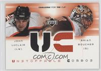 John LeClair, Brian Boucher
