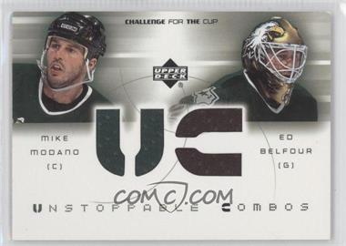 2001-02 Upper Deck Challenge for the Cup Unstoppable Combos #UC-UC-MB - [Missing]