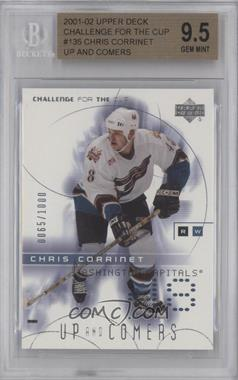 2001-02 Upper Deck Challenge for the Cup #135 - Chris Corrinet /1000 [BGS 9.5]