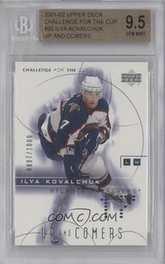 2001-02 Upper Deck Challenge for the Cup #95 - Ilya Kovalchuk /1000 [BGS 9.5]