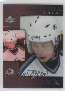 2001-02 Upper Deck Ice #133 - Riku Hahl /1000