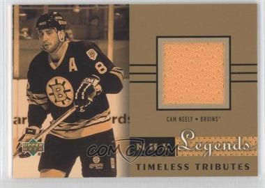 2001-02 Upper Deck Legends - Timeless Tributes Jerseys #TT-CN - Cam Neely