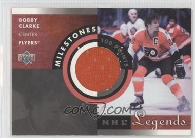 2001-02 Upper Deck Legends [???] #M-BC - Bobby Clarke