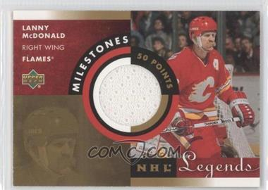 2001-02 Upper Deck Legends [???] #M-LM - Lanny McDonald