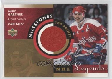 2001-02 Upper Deck Legends [???] #M-MG - Mike Gartner