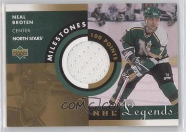 2001-02 Upper Deck Legends [???] #M-NB - Neal Broten
