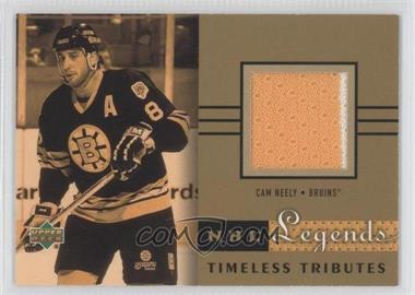 2001-02 Upper Deck Legends [???] #TT-CN - Cam Neely