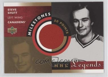 2001-02 Upper Deck Legends Milestones Jerseys #M-SS - Steve Shutt