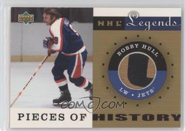 2001-02 Upper Deck Legends Pieces of History Sticks #PH-BH - Bobby Hull