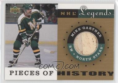2001-02 Upper Deck Legends Pieces of History Sticks #PH-MG - Mike Gartner