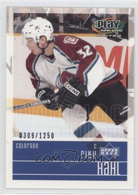 2001-02 Upper Deck Play Makers Limited #111 - Riku Hahl /1250