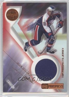2001-02 Upper Deck Prospects Game Used Edition Combo Prospects Jerseys #WH - Jason Spezza /125