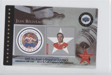 2001 Canada Post NHL All-Stars - [Base] #1 - Jean Beliveau