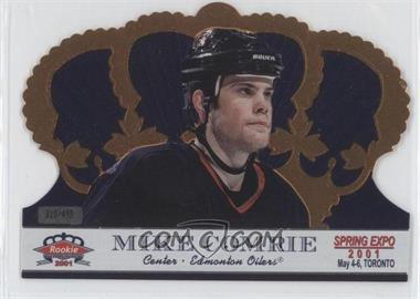 2001 Pacific Crown Royale Toronto Spring Expo #G-2 - Mike Comrie /499