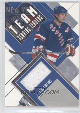 2002-03 In the Game Be A Player First Edition - Team Scoring Leaders #TSL-12 - Eric Lindros