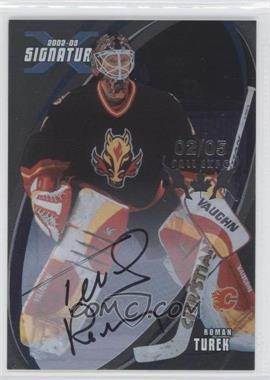 2002-03 In the Game Be A Player Signature Series [???] #123 - Roman Turek /5