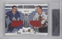 Frank Mahovlich, Bobby Hull /40 [BGS AUTHENTIC]