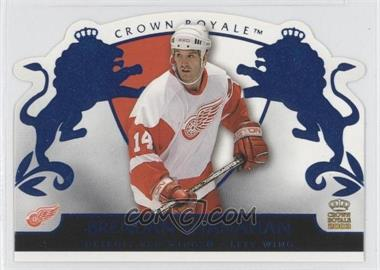 2002-03 Pacific Crown Royale - [Base] - Blue #36 - Brendan Shanahan