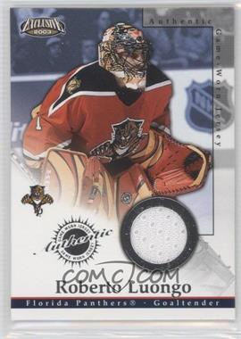 2002-03 Pacific Exclusive [???] #11 - Roberto Luongo