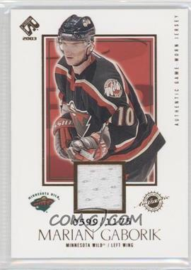 2002-03 Pacific Private Stock Reserve #126 - Marian Gaborik /1175