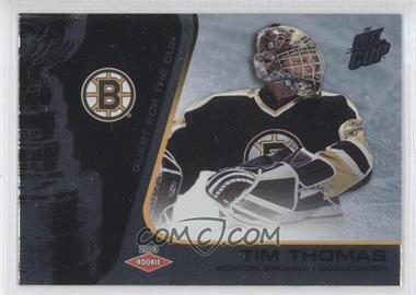 2002-03 Pacific Quest for the Cup [???] #106 - Tim Thomas /950