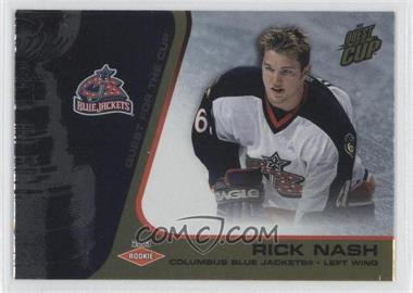 2002-03 Pacific Quest for the Cup [???] #113 - Rick Nash /325