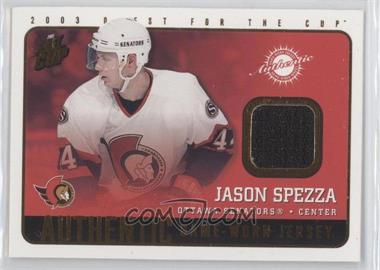 2002-03 Pacific Quest for the Cup [???] #14 - Jason Spezza