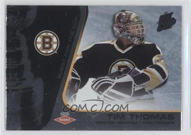 2002-03 Pacific Quest for the Cup #106 - Tim Thomas /950