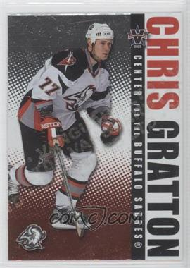 2002-03 Pacific Vanguard Limited #12 - Chris Gratton /450