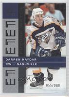 Darren Haydar /900
