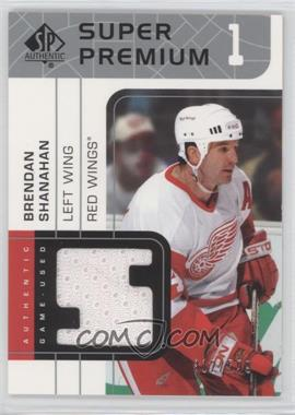 2002-03 SP Authentic Super Premium Jerseys #SP-BS - Brendan Shanahan /599