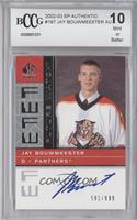 Jay Bouwmeester /999 [ENCASED]