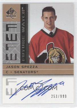 2002-03 SP Authentic #191 - Jason Spezza /999