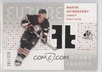 Maxim Afinogenov /225