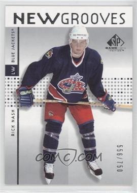 2002-03 SP Game Used #73 - Rick Nash /750