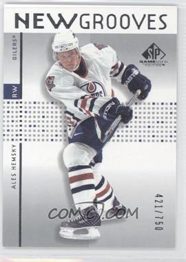 2002-03 SP Game Used #77 - Ales Hemsky /750
