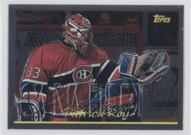 2002-03 Topps Chrome Patrick Roy Reprints #10 - Patrick Roy