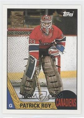 2002-03 Topps Patrick Roy Reprints #2 - Patrick Roy