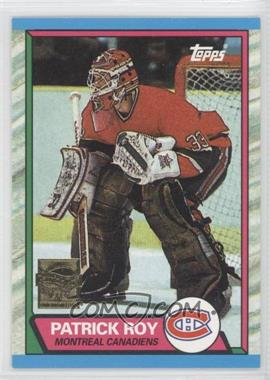 2002-03 Topps Patrick Roy Reprints #4 - Patrick Roy