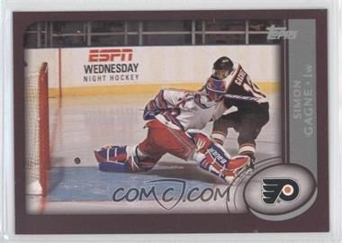 2002-03 Topps Pre-Production #PP1 - Simon Gagne